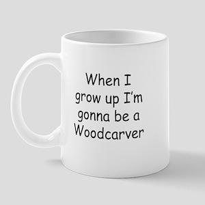 Woodcarver Mug