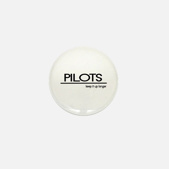 Pilot Joke Mini Button