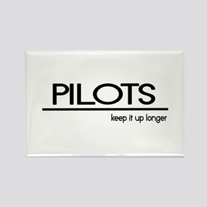 Pilot Joke Rectangle Magnet