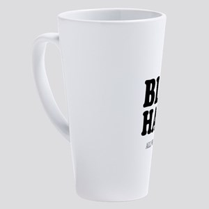 BLOW HARD! - ALL WIND AND PISS! - 17 oz Latte Mug