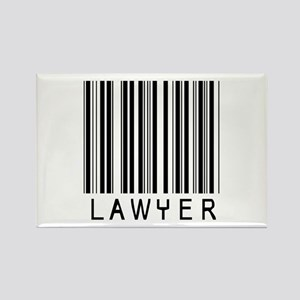 Lawyer Barcode Rectangle Magnet