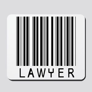 Lawyer Barcode Mousepad