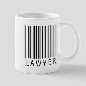 Lawyer Barcode Mug