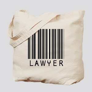 Lawyer Barcode Tote Bag