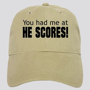 You Had Me at He Scores Cap