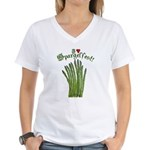 I Heart Spargelfest! Women's V-Neck T-Shirt