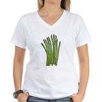 Fresh Asparagus Fan Women's V-Neck T-Shirt