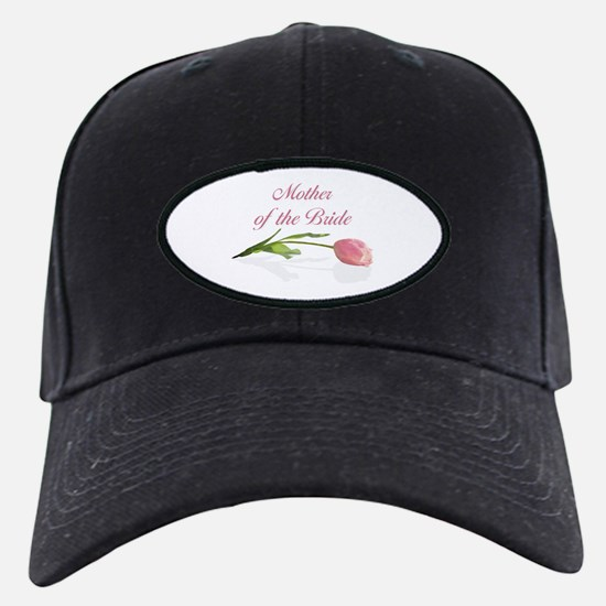 Pink Tulip Mother of Bride Baseball Hat