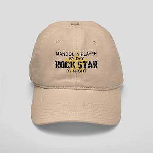 Mandolin Player Rock Star Cap