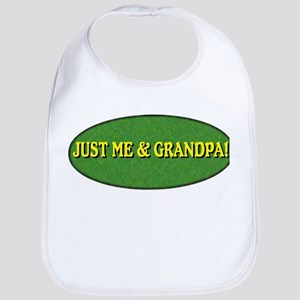 Just me and Grandpa! Bib