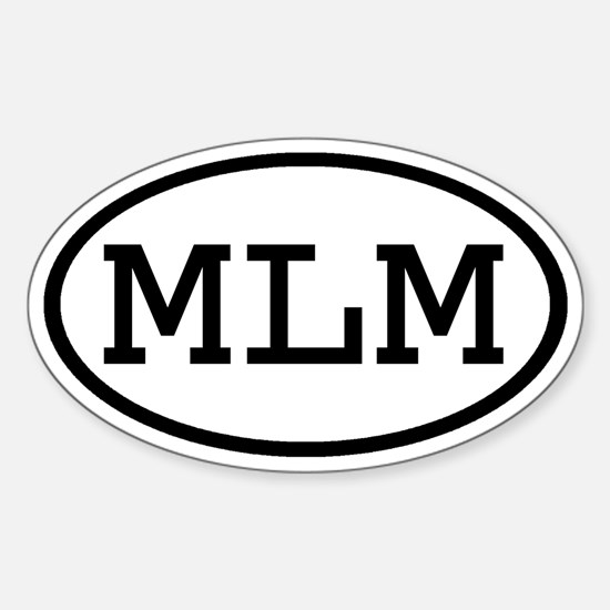 MLM Oval Oval Decal