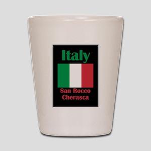 San Rocco Cherasca Italy Shot Glass