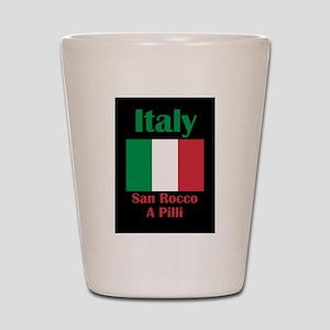 San Rocco A Pilli Italy Shot Glass