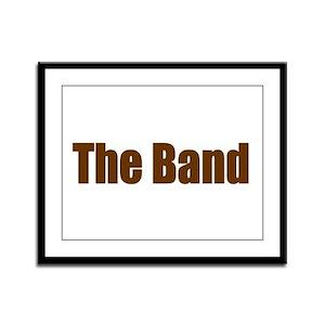 The Band Framed Panel Print