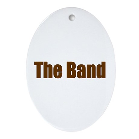 The Band Oval Ornament