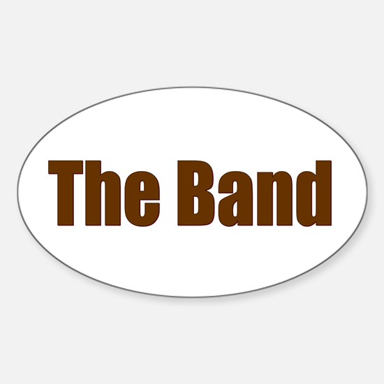 The Band Oval Decal