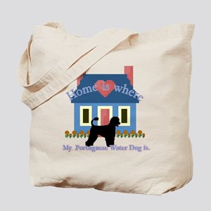 Portuguese Water Dog Tote Bag