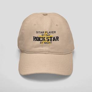 Sitar Player Rock Star Cap