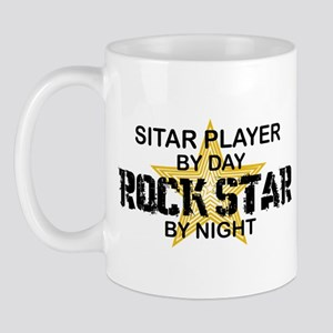 Sitar Player Rock Star Mug