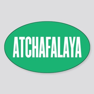 Atchafalaya Sticker (Oval)