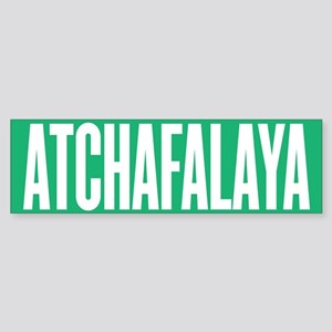 Atchafalaya Bumper Sticker