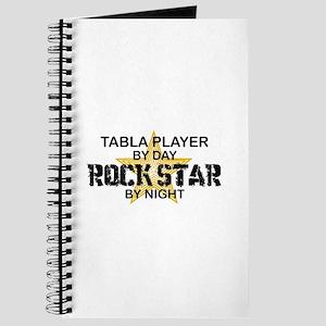 Tabla Player Rock Star Journal