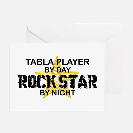 Tabla Player Rock Star Greeting Cards (Pk of 10)