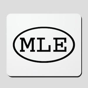 MLE Oval Mousepad