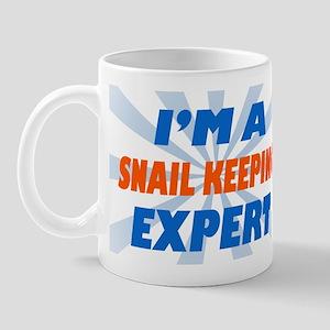 Im a snail keeping expert Mug