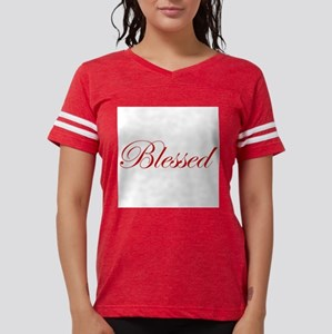 Red Blessed Ash Grey T-Shirt