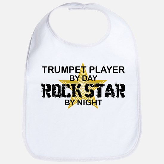 Trumpet Player Rock Star Bib