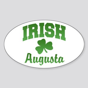 Augusta Irish Oval Sticker