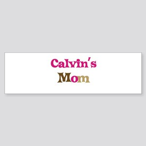 Calvin's Mom Bumper Sticker