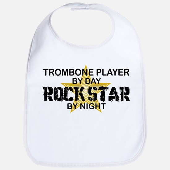 Trombone Player Rock Star Bib