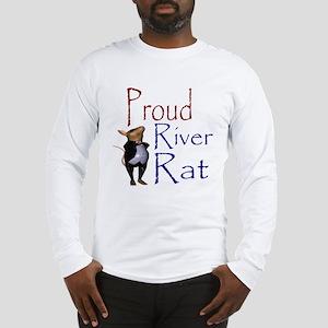 Proud River Rat Poker Long Sleeve T-Shirt