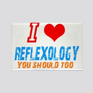 I love reflexology Rectangle Magnet