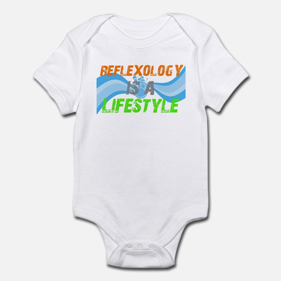 Reflexology is a lifestyle Infant Bodysuit