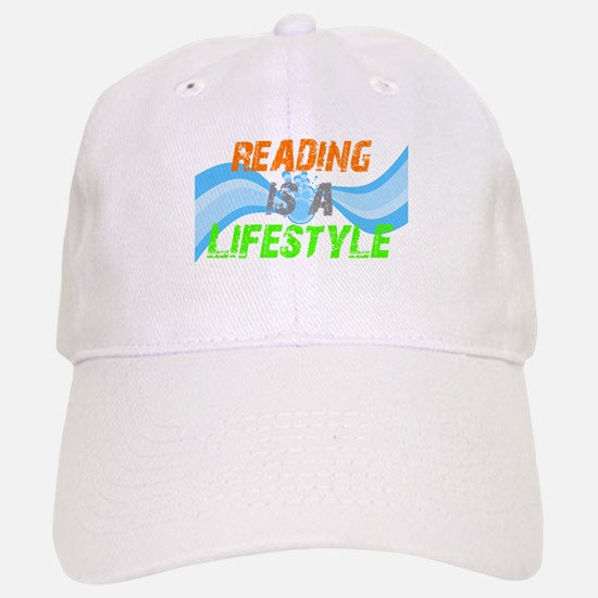 Reading is a lifestyle Baseball Baseball Cap