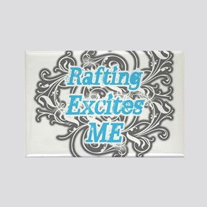 Rafting Excites me Rectangle Magnet