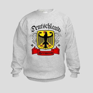 Deutschland Coat of Arms Kids Sweatshirt