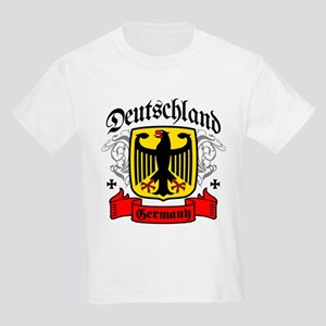 Deutschland Coat of Arms Kids Light T-Shirt