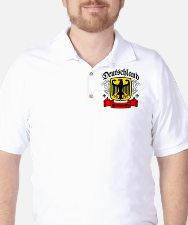 Deutschland Coat of Arms Golf Shirt