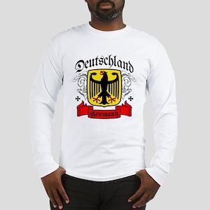 Deutschland Coat of Arms Long Sleeve T-Shirt