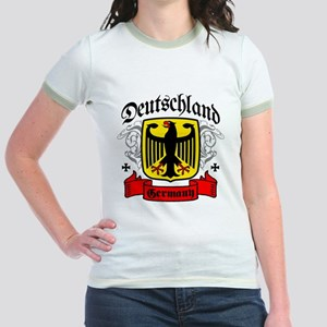 Deutschland Coat of Arms Jr. Ringer T-Shirt