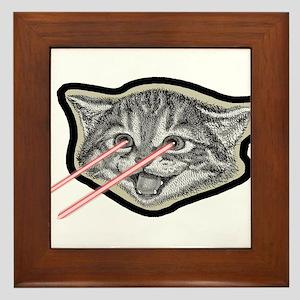 Laser Cat Eyes Space Framed Tile
