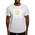 Cushing's Support Staff Ash Grey T-Shirt