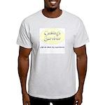 Cushing's Survivor Ash Grey T-Shirt