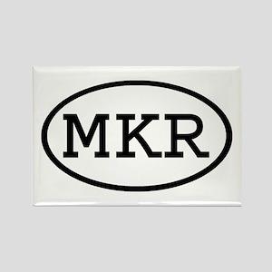 MKR Oval Rectangle Magnet