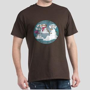 Snowpeople Friends? Dark T-Shirt