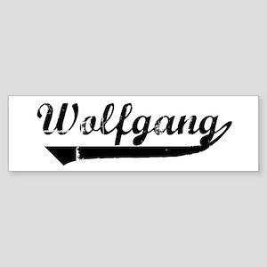 Wolfgang (vintage) Bumper Sticker